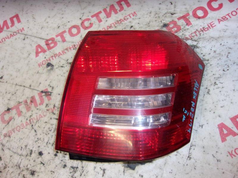Стоп-сигнал Toyota Allex NZE121, NZE124, ZZE122, ZZE124, ZZE123 1NZ 2002-2004 левый