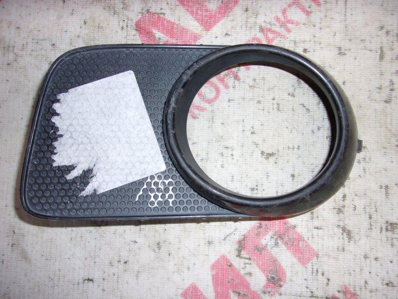 Обрамление туманки Toyota Wish ZNE14G, ANE10G, ANE11W, ZNE10G 1ZZ 2003 левое