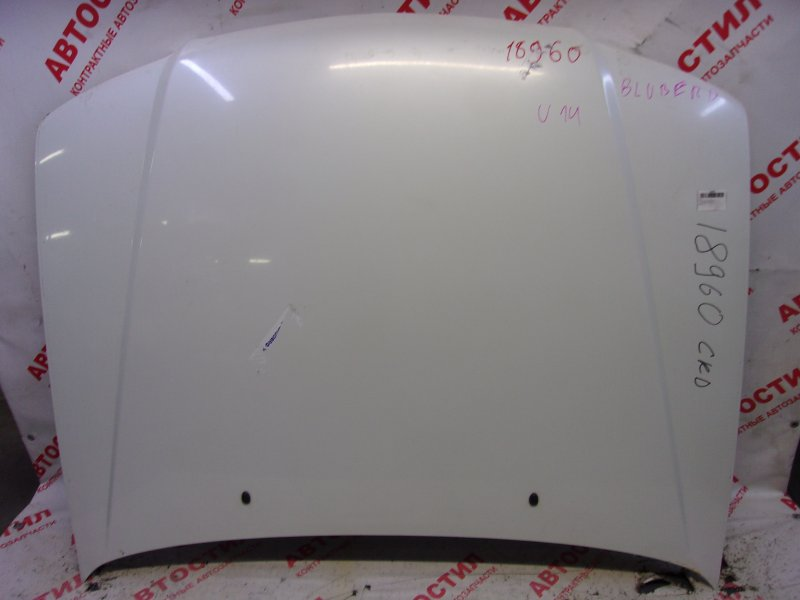 Капот Nissan Bluebird ENU14, HNU14, HU14, QU14, SU14 QG18 1999