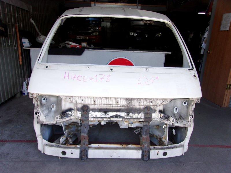 Nose cut Toyota Hiace RZH102V, RZH112K, RZH112V, RZH182K, RZH183K, LH162V, LH168V, LH172K, LH172V, LH178V, LH182K, LH188K, TRH102V, TRH112K, TRH112V,