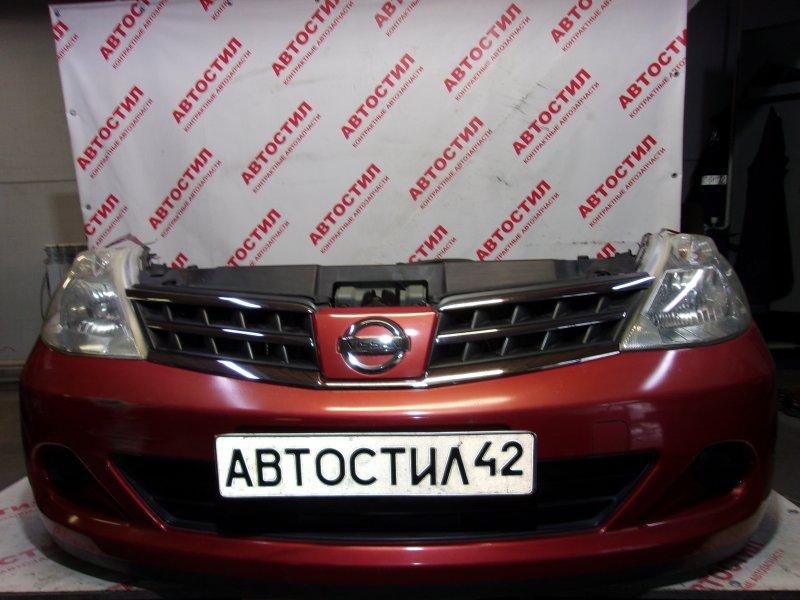 Nose cut Nissan Tiida JC11, C11, NC11, SJC11, SC11, SNC11 HR15 2009