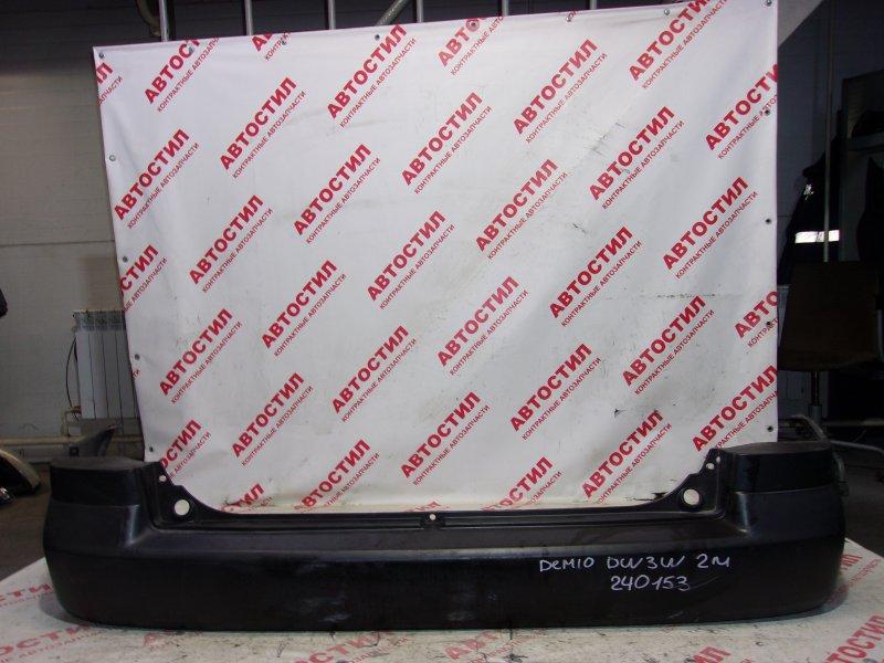 Бампер Mazda Demio DW3W, DW5W B3 2001 задний