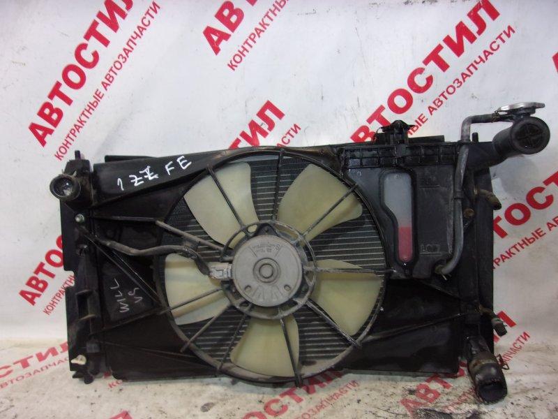 Радиатор основной Toyota Will Vs NZE127, ZZE127, ZZE128, ZZE129 1ZZ 2003