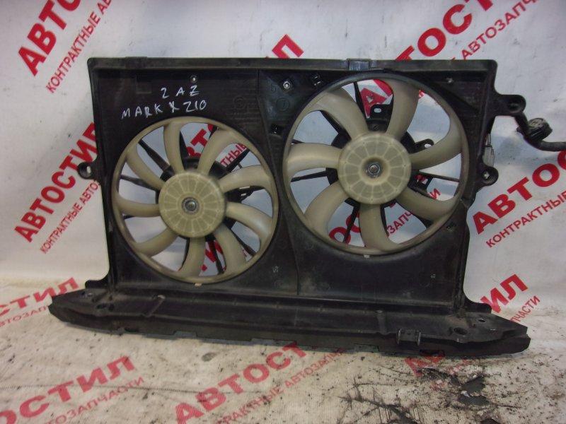 Диффузор радиатора Toyota Mark X Zio ANA10, ANA15, GGA10 2AZ 2007-2011