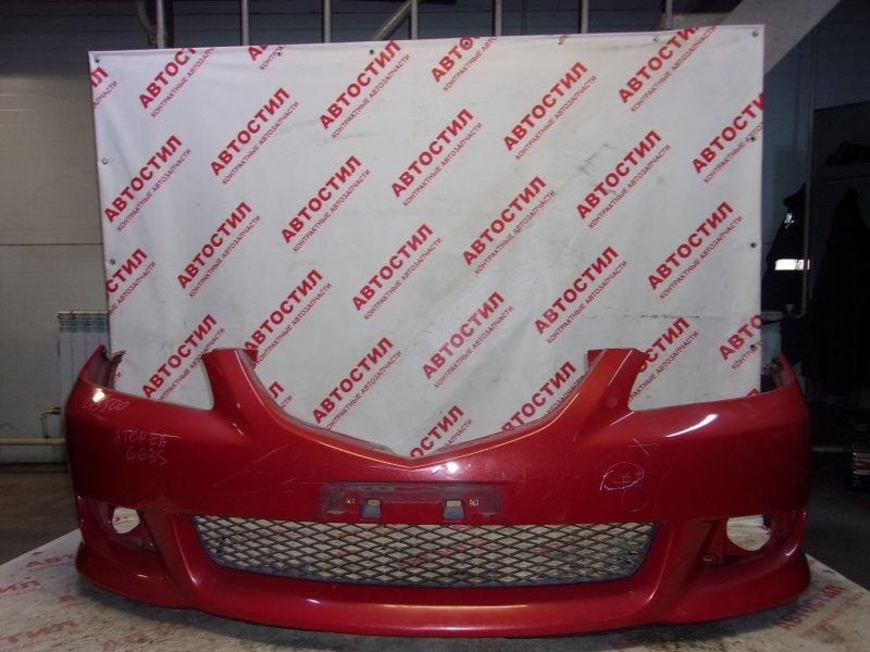 Бампер Mazda Atenza GG3P, GGEP,GY3W, GYEW,GG3S, GGES LF 2003 передний