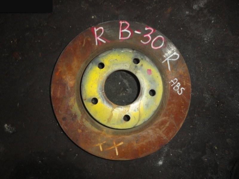 Диск тормозной Nissan Lafesta B30 2004 передний