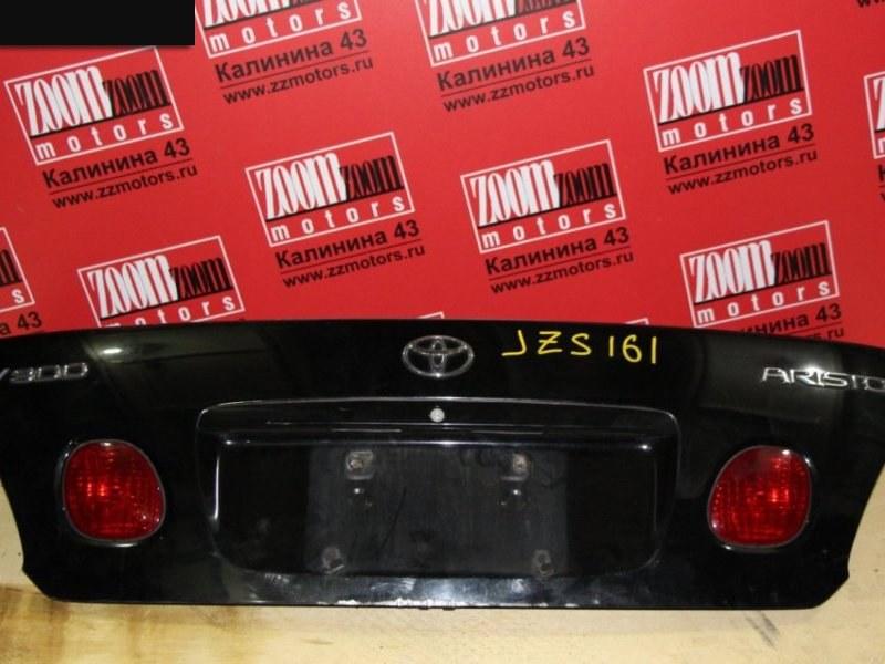 Крышка багажника Toyota Aristo JZX161 1997 задняя черный