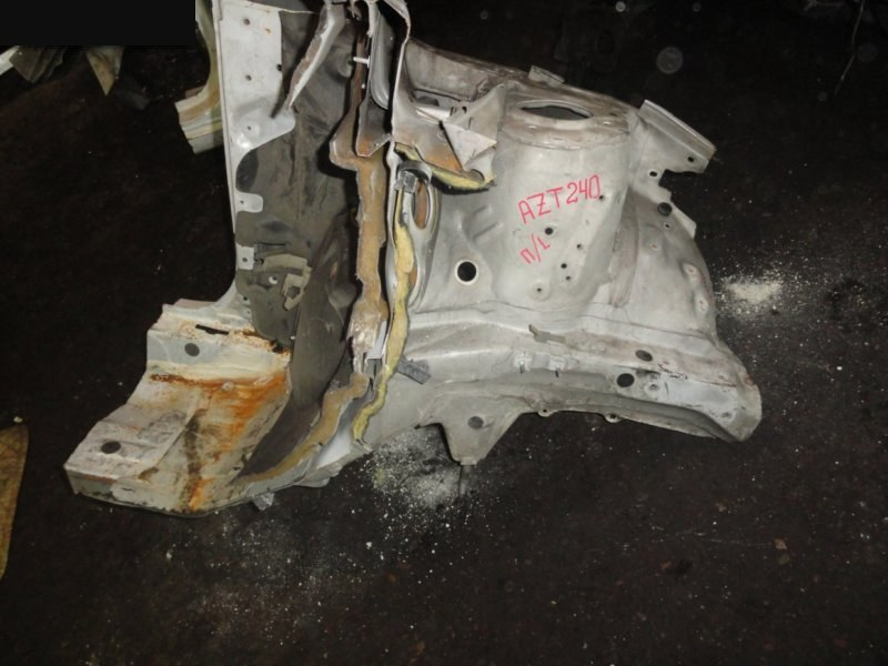 Лонжерон Toyota Allion AZT240 2001 передний левый белый