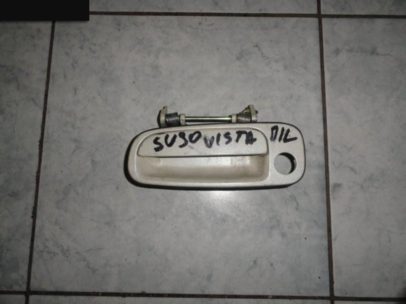 Ручка наружная Toyota Vista SV30 1990 передняя левая