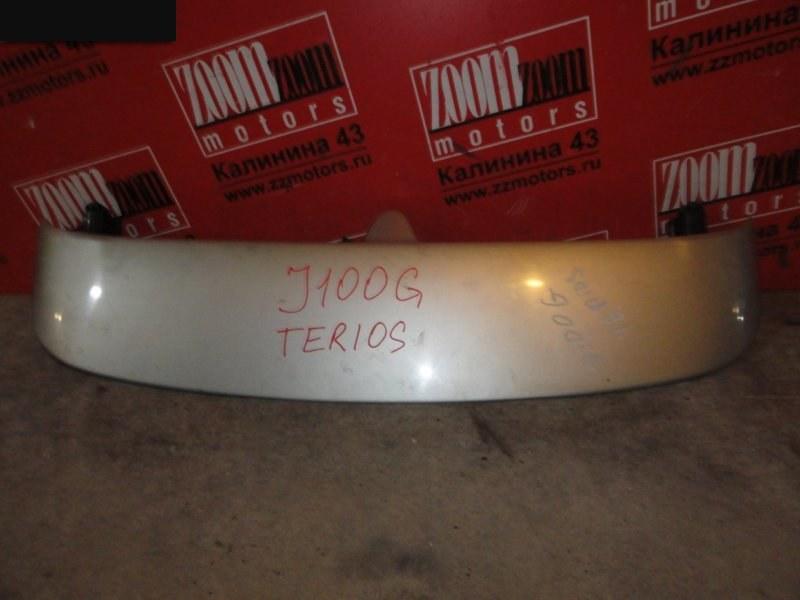 Спойлер Daihatsu Terios J100G 1997 серебро