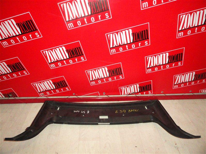 Накладка багажника Bmw 525I. 525 E39 1995 задняя черный