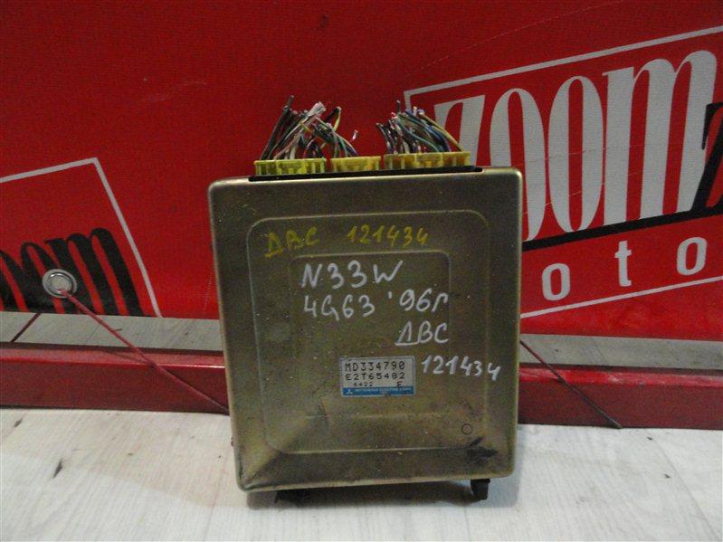 Компьютер (блок управления) Mitsubishi Chariot N33W 4G63 1996 MD334790