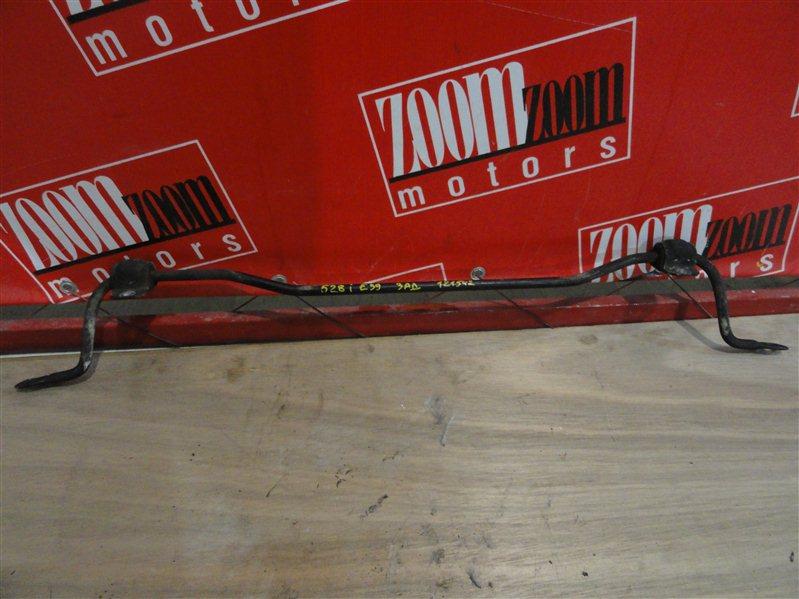 Стабилизатор поперечной устойчивости Bmw 528 E39 M52 B28 1999 задний