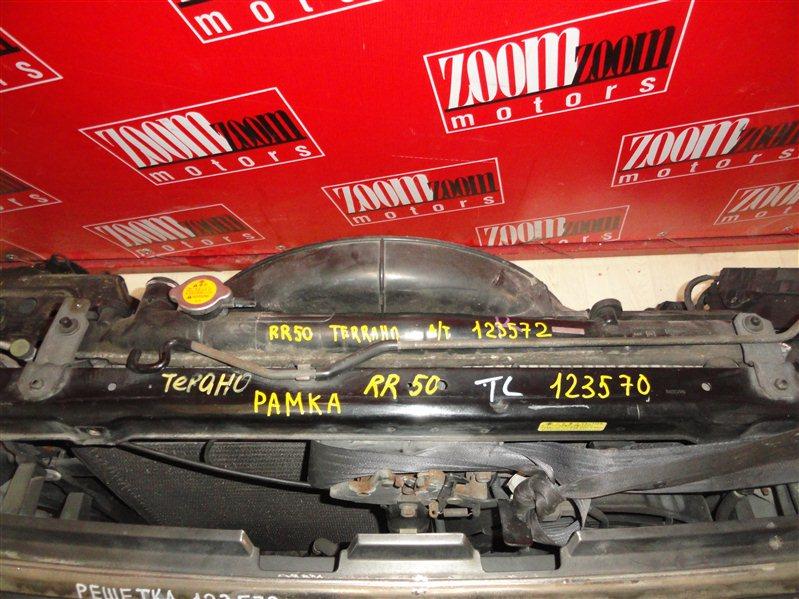 Рамка радиатора Nissan Terrano RR50 1995 передняя черный