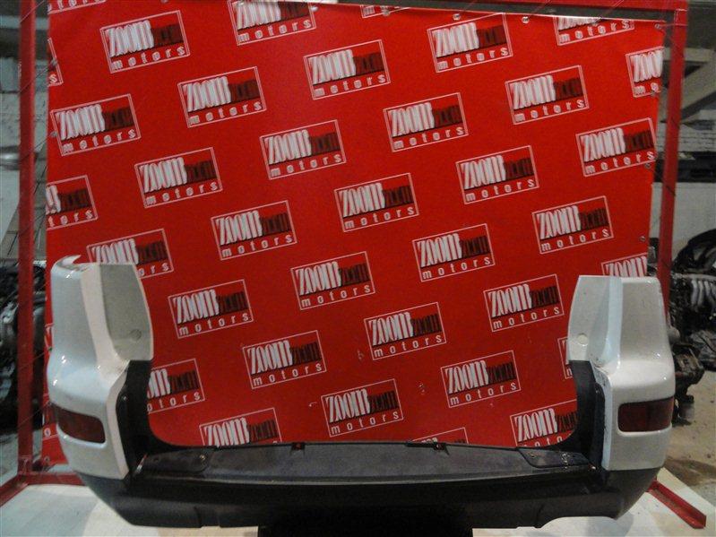 Бампер Mitsubishi Outlander Xl CW5W 4B12 2005 задний белый перламутр