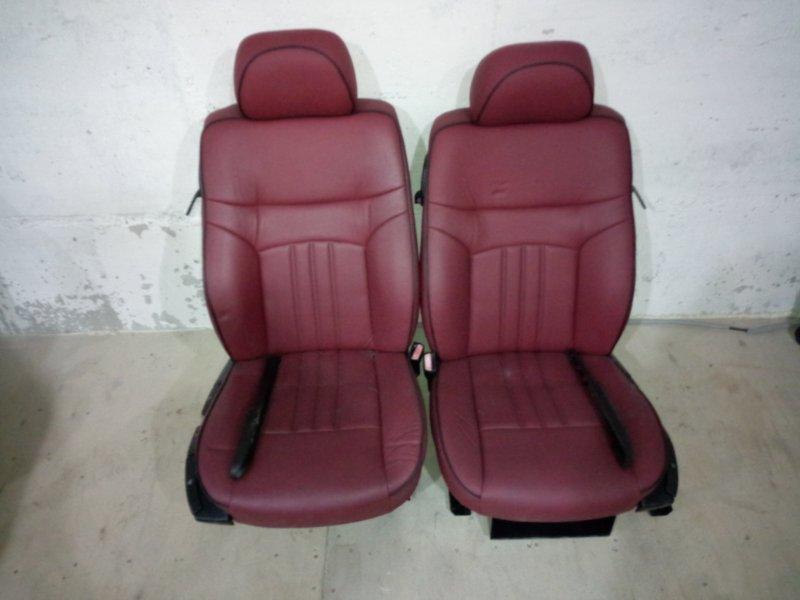 Сиденья Bmw 318 E46 N42 B20 A 1998 передняя красный