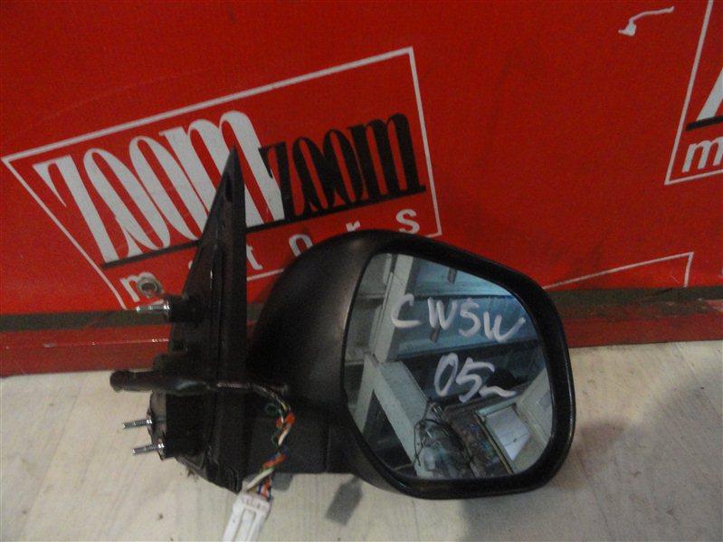Зеркало боковое Mitsubishi Outlander Xl CW5W 2005 переднее правое хром