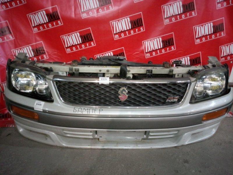Бампер Nissan Stagea WGNC34 RB25DET 1996 передний бежевый