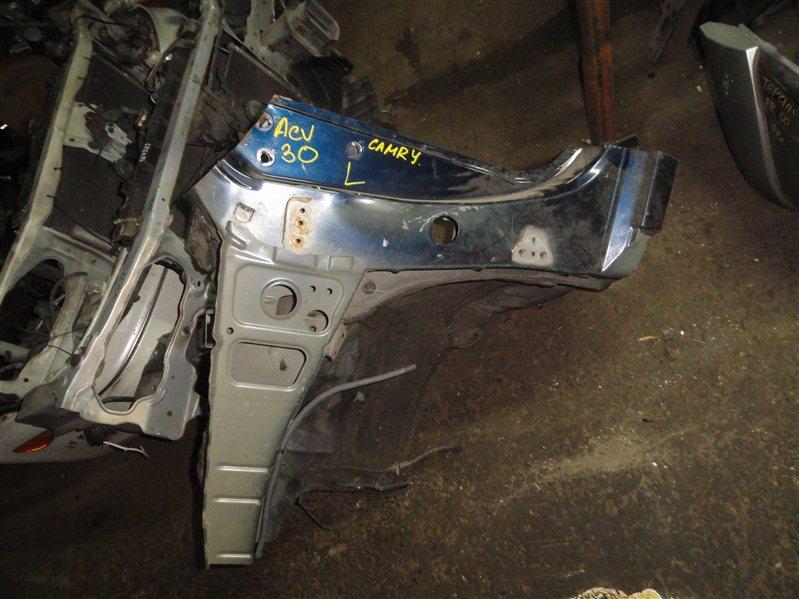 Лонжерон Toyota Camry ACV30 2001 левый