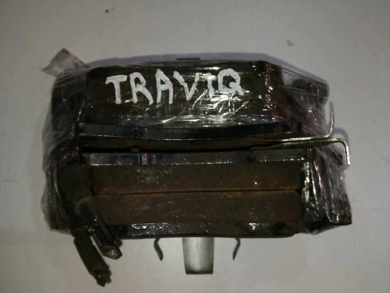Колодки тормозные Subaru Traviq XM220 Z22S 2001 передние