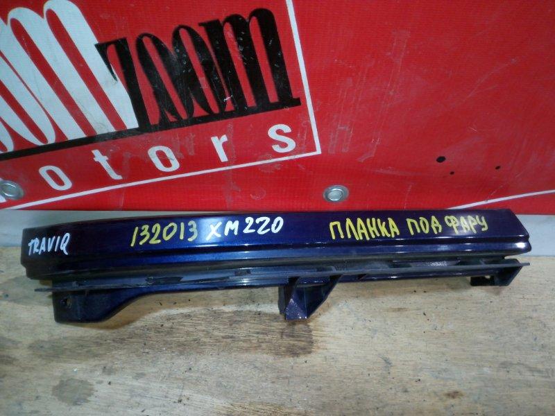 Планка под фару Subaru Traviq XM220 Z22SE 2001 передняя правая синий
