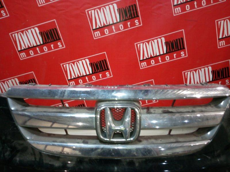 Решетка радиатора Honda Edix BE1 D17A 2004 хром