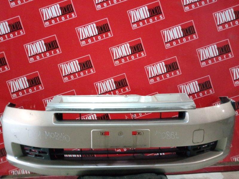 Бампер Honda Mobilio GB1 2001 передний золото