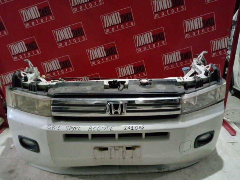 Nose cut Honda Mobilio Spike GK1 2001 передний белый