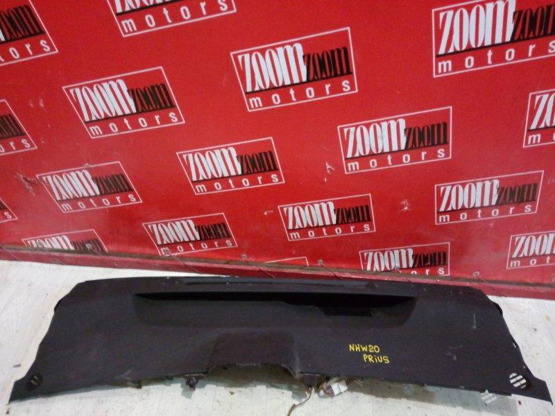 Панель передняя в салон (торпеда) Toyota Prius NHW20 темно-серый