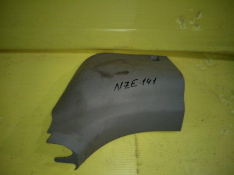 Пластиковые детали салона Toyota Corolla Axio NZE141 1NZ-FE 2006 переднее правое