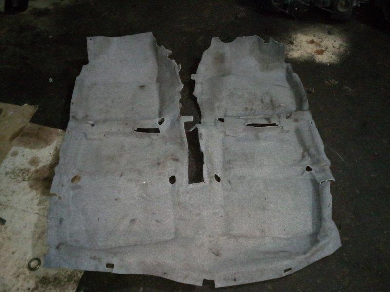Обшивка (ковер) пола Toyota Corolla Axio NZE141 1NZ-FE 2006
