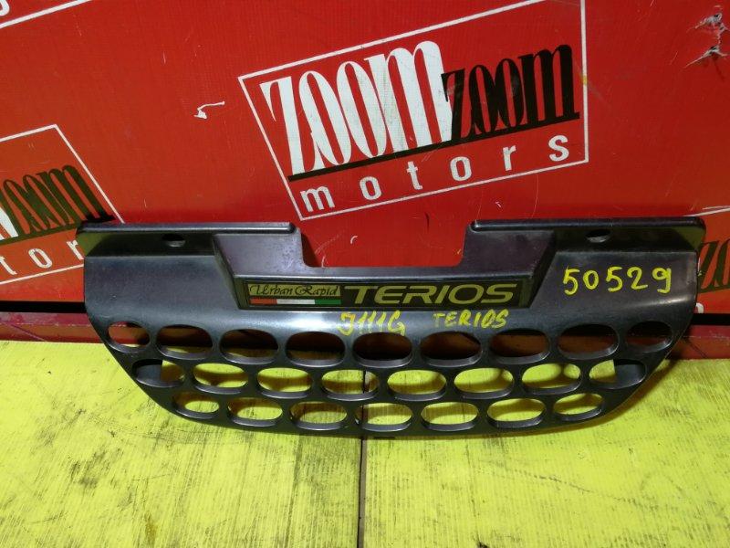 Решетка радиатора Daihatsu Terios J100G 1997 передняя черный