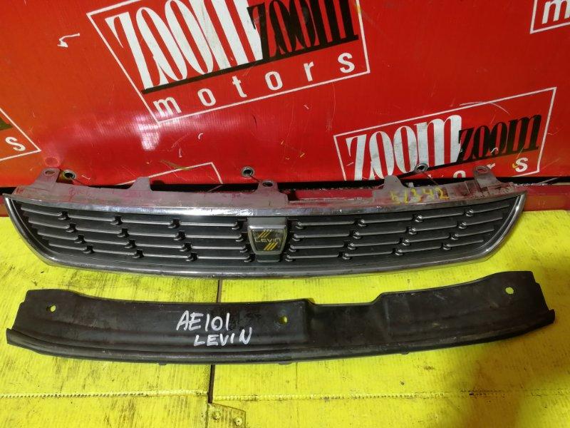 Решетка радиатора Toyota Corolla Levin AE101 1991 передняя хром