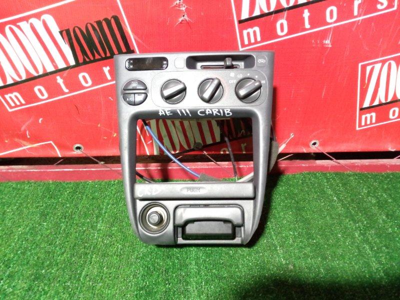 Консоль панели приборов Toyota Sprinter Carib AE111 4A-FE 1997 передний