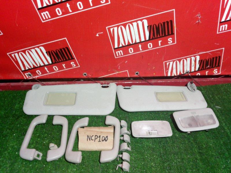 Солнцезащитный козырек Toyota Ractis NCP100 2005