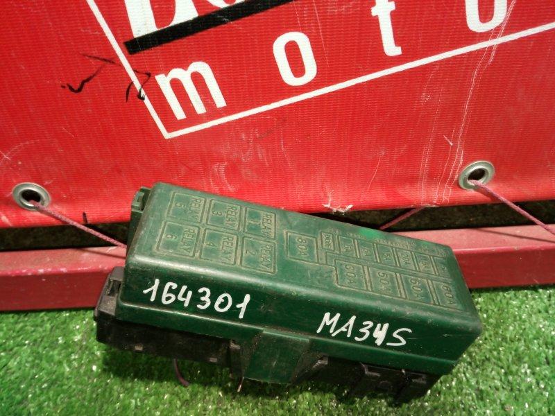 Блок реле и предохранителей Suzuki Wagon R Solio MA34S M13A