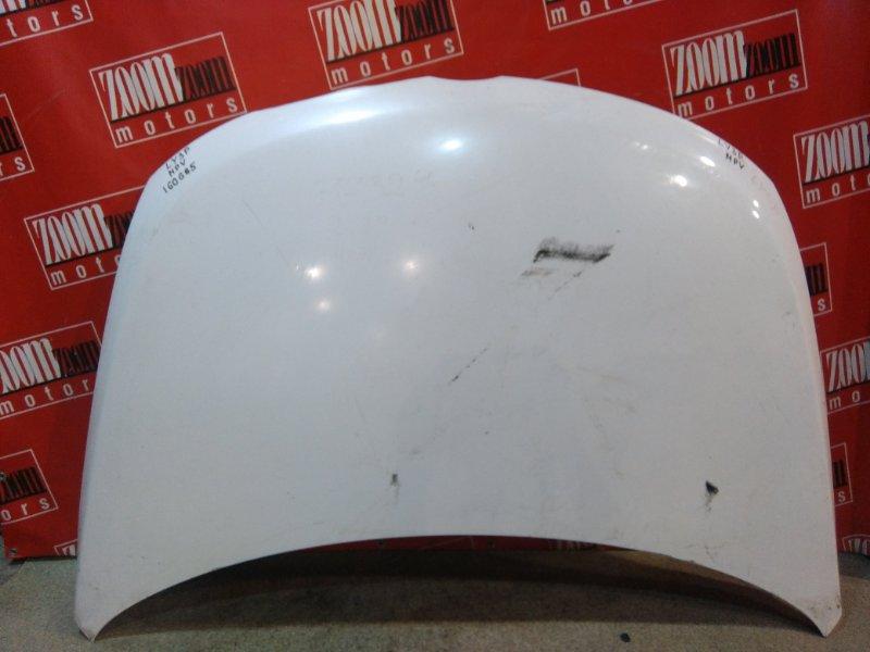 Капот Mazda Mpv LY3P L3-VE 2006 белый