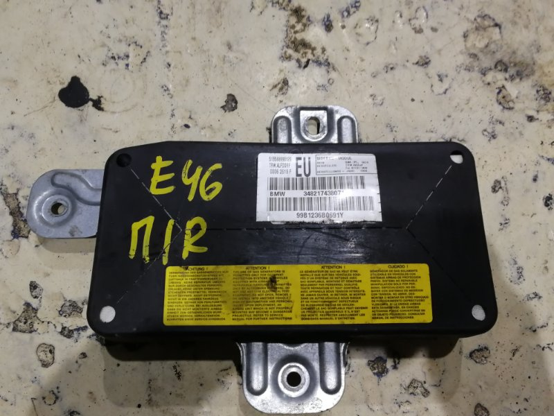 Аирбаг Bmw 325I E46 M52 B25 1998 передний правый