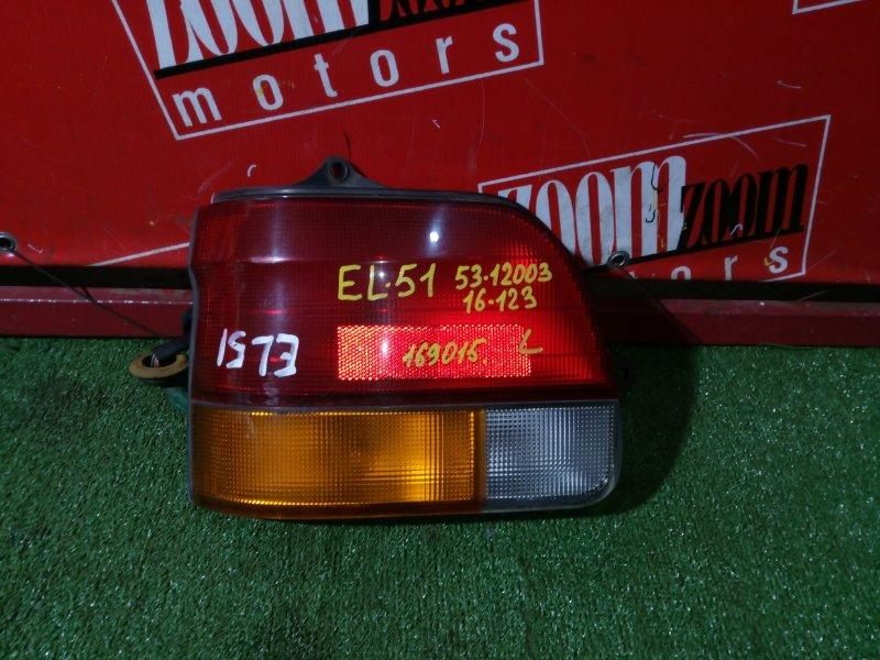 Фонарь (стоп-сигнал) Toyota Tercel/corsa EL51 1995 задний левый 16-123