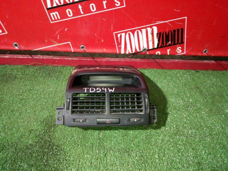 Консоль панели приборов Suzuki Escudo TD54W J20A 2006 передний