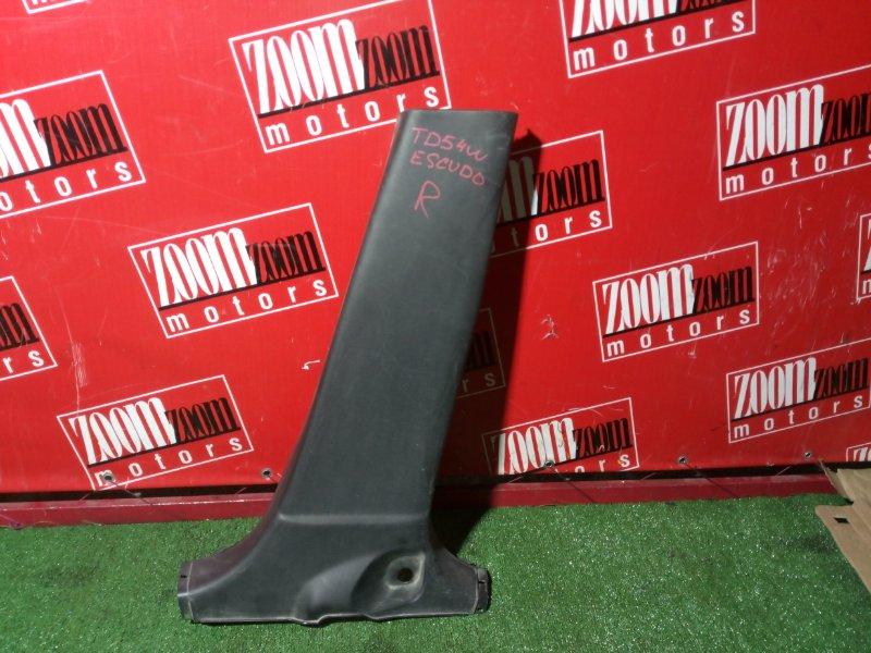 Пластиковые детали салона Suzuki Escudo TD54W J20A 2006 правое нижнее черный