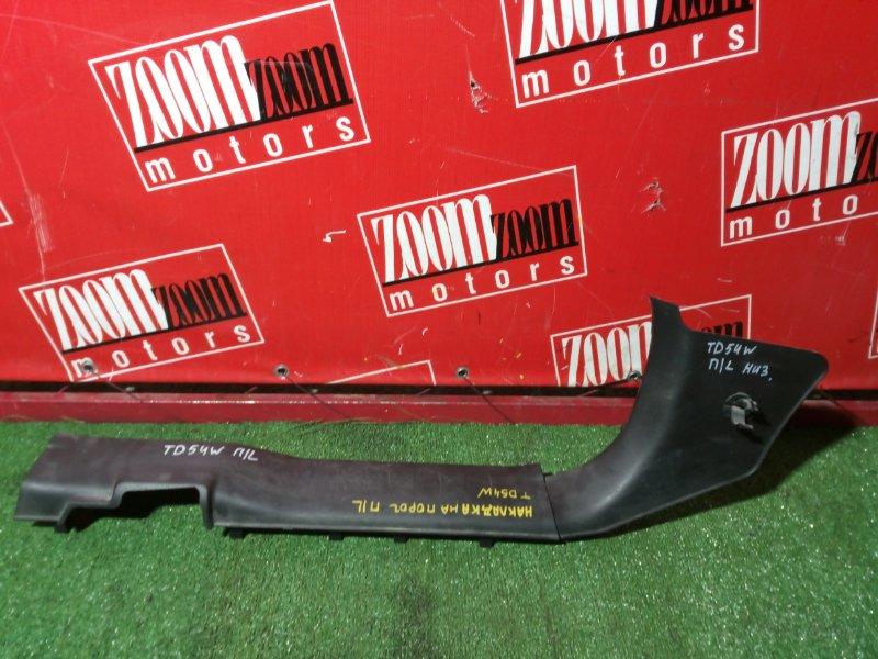 Накладка порога Suzuki Escudo TD54W J20A 2006 передняя левая