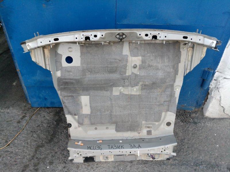 Днище (панель пола, багажника) Toyota Harrier MCU36 1MZ-FE 2003 заднее