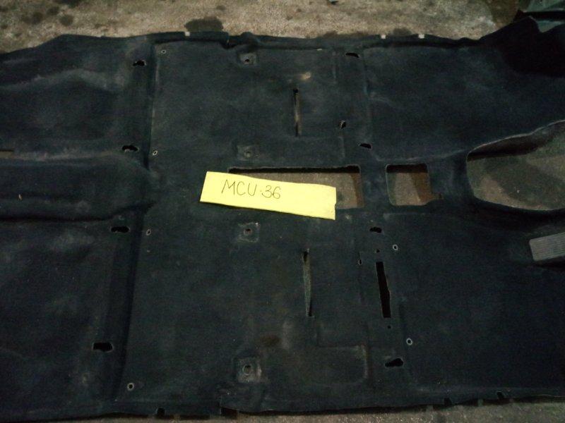 Обшивка (ковер) пола Toyota Harrier MCU36 1MZ-FE 2003