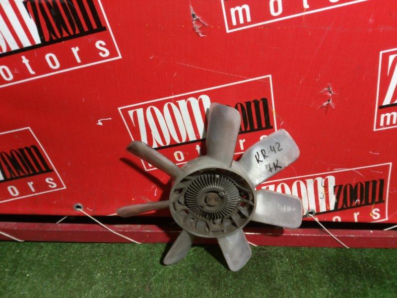 Вискомуфта вентилятора радиатора Toyota Town Ace Noah KR42 7K-E 2001