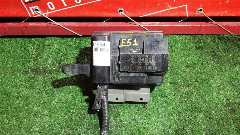 Блок реле и предохранителей Nissan Elgrand E51 VQ35DE 2002