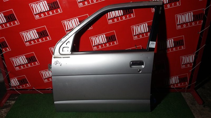 Дверь боковая Daihatsu Terios Kid J111G 2005 передняя левая серебро