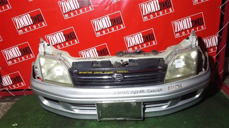 Бампер Daihatsu Pyzar G301G HE-EG 2000 передний серебро