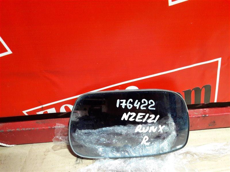 Стекло зеркала Toyota Corolla Runx NZE121 1NZ-FE 2003 переднее правое