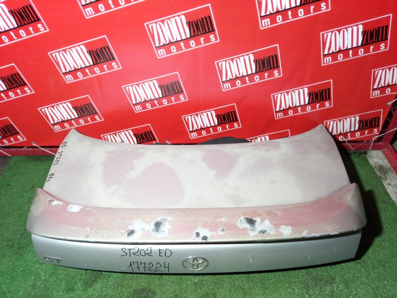 Крышка багажника Toyota Carina Ed ST202 3S-FE 1996 задняя серебро